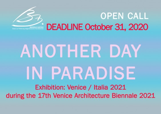 ANOTHER DAY IN PARADISE - Venedig 2021