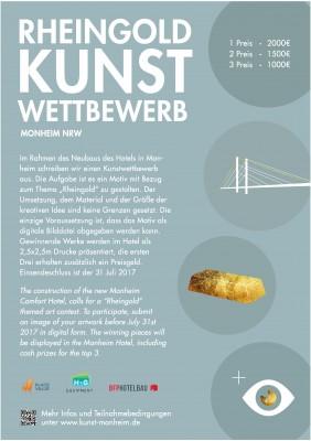 Rheingold – Kunstwettbewerb in Monheim
