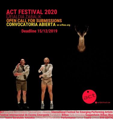 ACT FESTIVAL BILBAO 2020