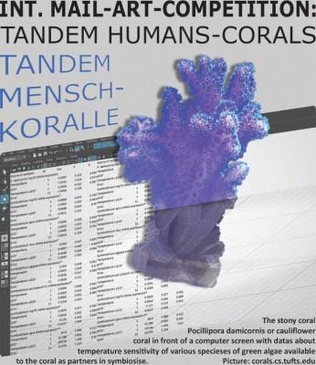 Tandem Mensch-Koralle | Internationaler Mail-Art-Wettbewerb