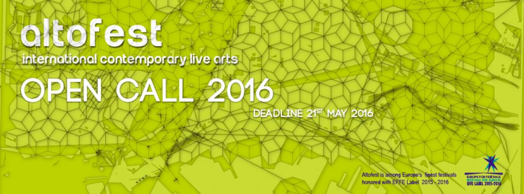 Altofest2016 International Contemporary Live Arts
